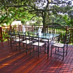 Deck Dining Table